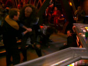 O&#39;Brien saves himself from a Klingon