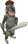 Gnome guard sword