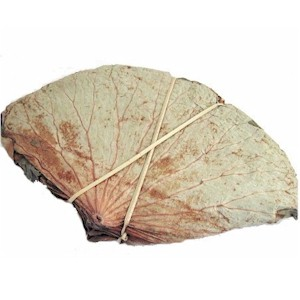 Dried lotus leaf