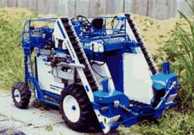 Chisholm-Ryder grape harvester