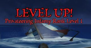 Infamy Rank Up!