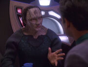 Garak and Bashir on the replimat - Inter Arma