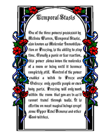 File:Temporal Stasis (entry).jpg - Charmed pages Wiki