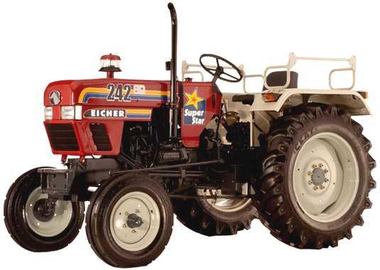 Eicher 242 super star tractor construction plant wiki for Eicher motors share price forecast
