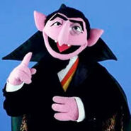 Count Dracula-Sesame Street