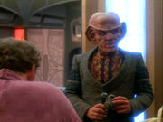 O&#39;Brien complains to Quark who isn&#39;t listening