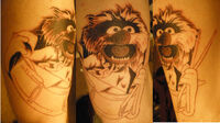 Animal Muppet Tattoo by pisopez