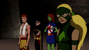 Young Justice Episode Infiltrator