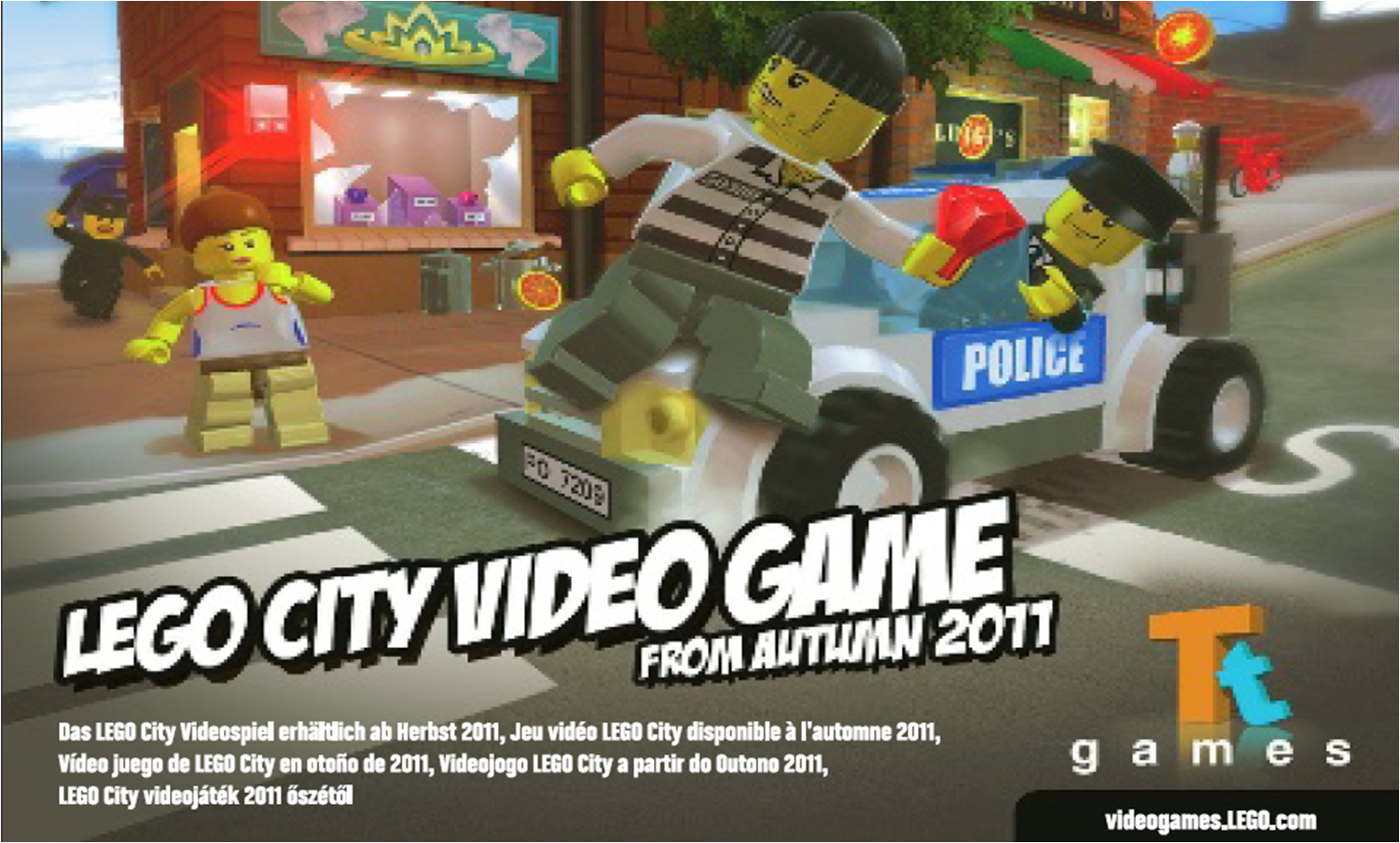 grand theft lego city stories. Black Bedroom Furniture Sets. Home Design Ideas