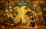 Wrath of the Lich King 3.3 Kalimdor loading screen