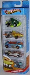 Creature Cars 5pk 2011