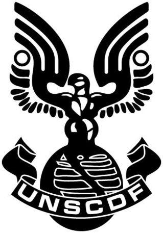 Halo Unsc Symbol Comando espacial de la