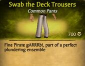 Swab the Deck Trousers