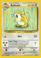 Raticate (Base Set TCG)