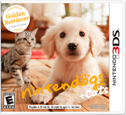 Nintendogs and Cats Golden Retriever and New Friends (NA)