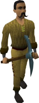 Rune pickaxe equipped old