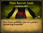 Plain Recruit Sash