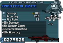 ZPR10 Fatal Brute