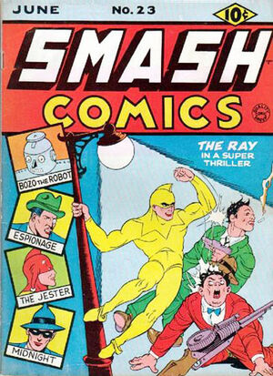 Cover for Smash Comics #23