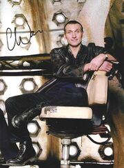 Christopher eccleston signed photo 2