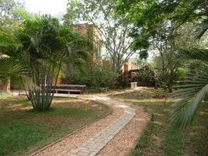 Auroville Soalr Kitchen grounds