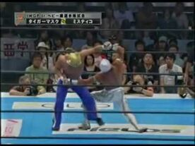 Mistico vs Tiger Mask