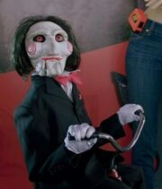 Billy the puppet SAW3D
