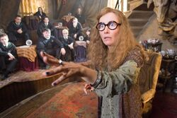 HP5 Sybill Trelawney Adivinacin