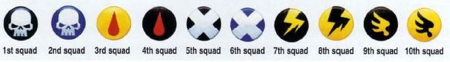 Squad Markings