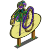 Mardi Gras Tree Mastery Sign-icon