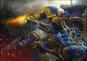 Ultramarines Firing