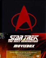 DVD TNG Movie Box