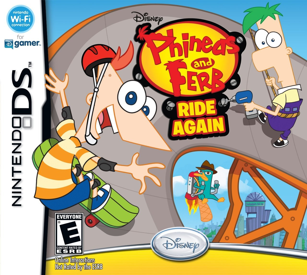 Play Phineas & Ferb: Transportinators Of Doooom Game Here ...