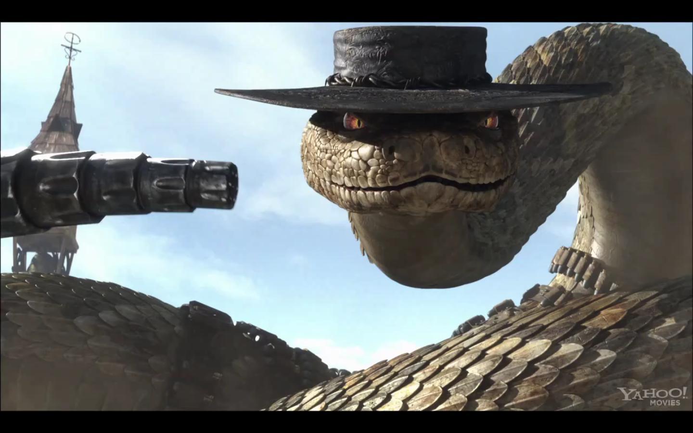 Rattlesnake Jake Plush Rango Rattlesnake Jake