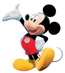 Mickey Mouse Transparent