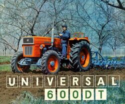 Universal 600 DT MFWD