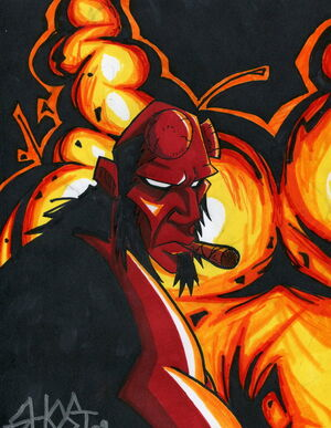 Hellboyfire