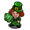 Leprechaun Girl-icon