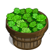 Green Roses Bushel-icon