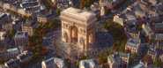 Cars 2 arc de triomphe paris