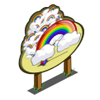 Giant Rainbow Tree Mastery Sign-icon