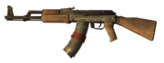 AK-47 Dual Mag 3rd person BO
