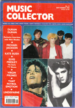 Music collector magazine dated september 1990 19 duran duran