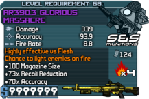 AR390.3 Glorious Massacre Draco happypal