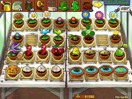 Zen garden plants vs zombies wiki