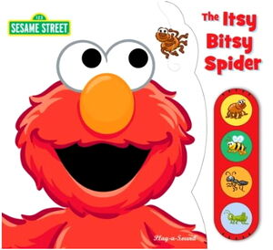 Itsy bitsy spider book