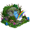 Rainbow Waterfall-icon