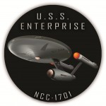 Eternal Image headstone marker NCC-1701