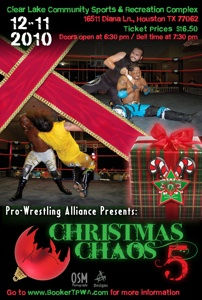 Christmas Chaos V Poster