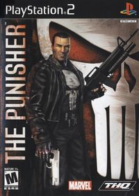 Punisher 2005 video game PS2 cover